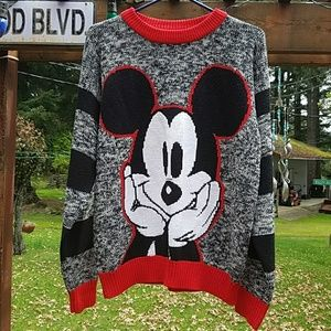 Mickey Mouse Sweater [OLDIE] Size Medium